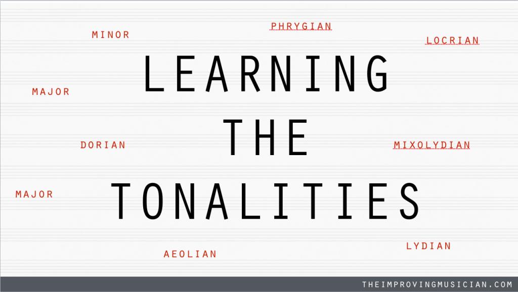 LEARNING THE TONALITIES 1