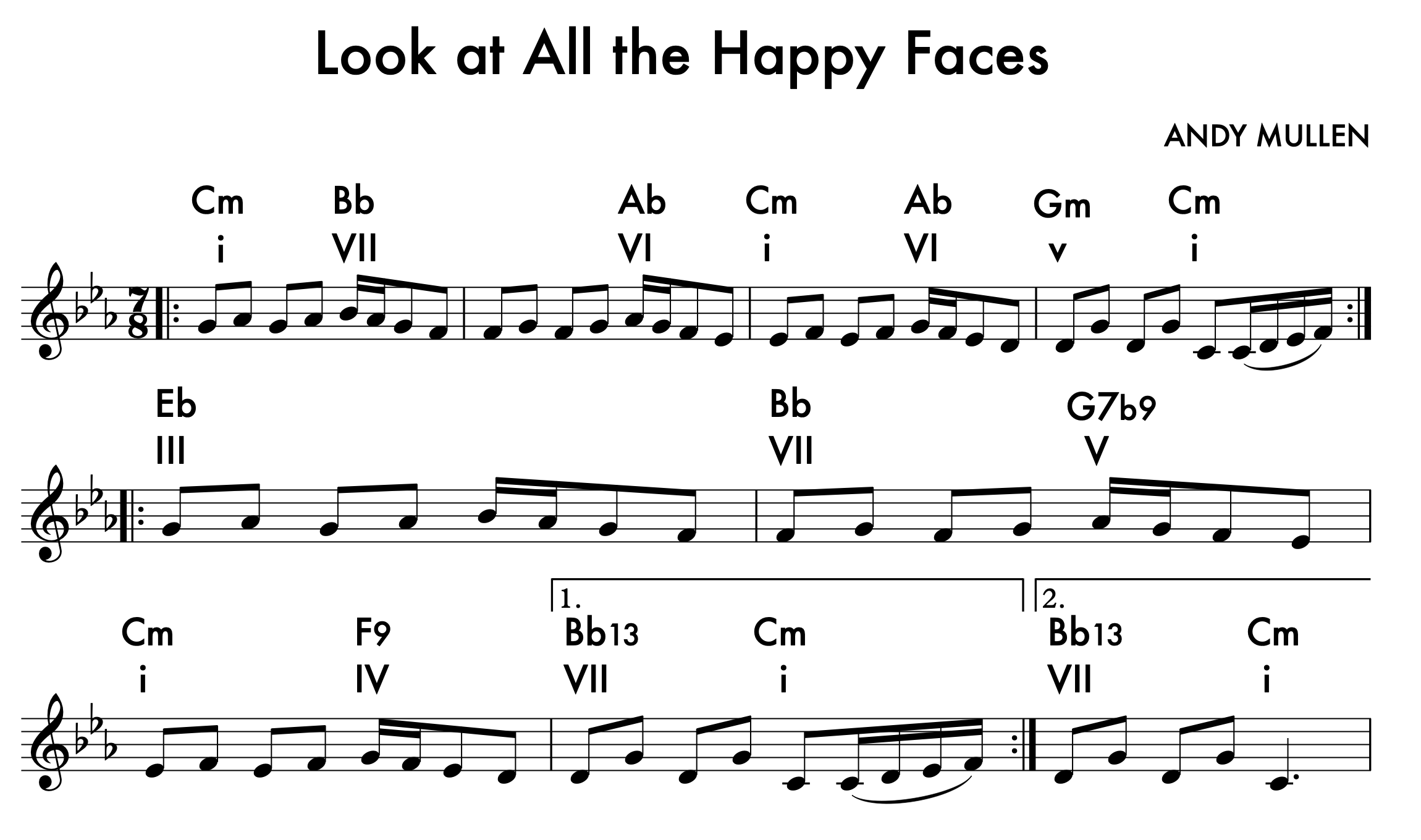 Look at All the Happy Faces - Look at All the Happy Faces (Tunes for Teaching)