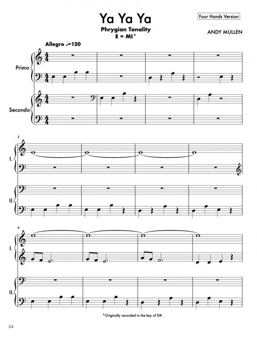 """Chucka Chucka Wawa"" Piano Book 4"