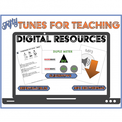 Fifty Tunes for Teaching Digital Resources 1