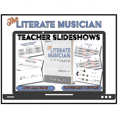 """The Literate Musician"" Teacher Slideshows (2nd edition)"