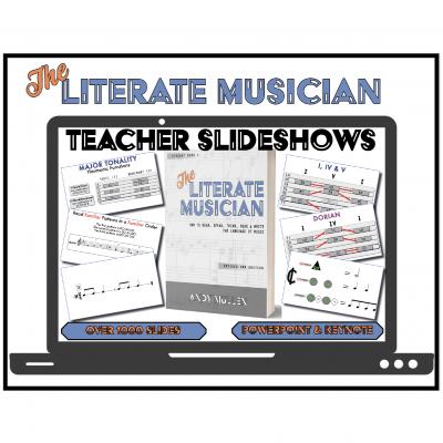 """The Literate Musician"" Teacher Slideshows (2nd edition)"