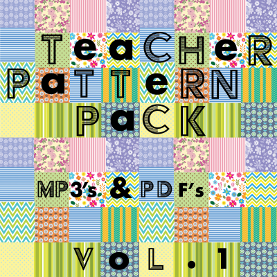 Teacher Pattern Pack