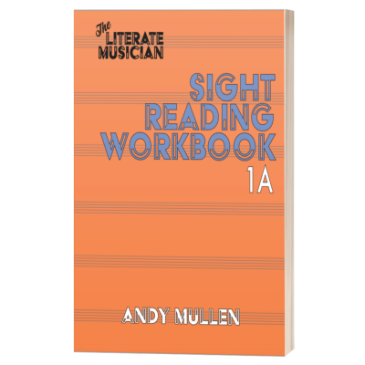 sight reading workbook 1a 400x400 - Sight Reading Workbook 1A